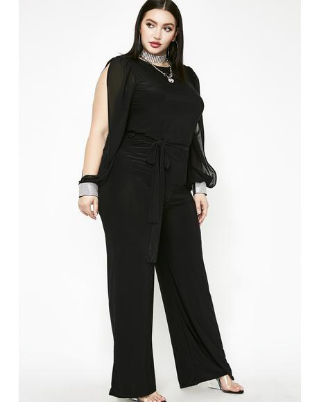 Sophisticated Ladies Wide Leg Jumpsuit