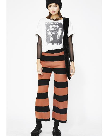 On The Horizon Stripe Culottes