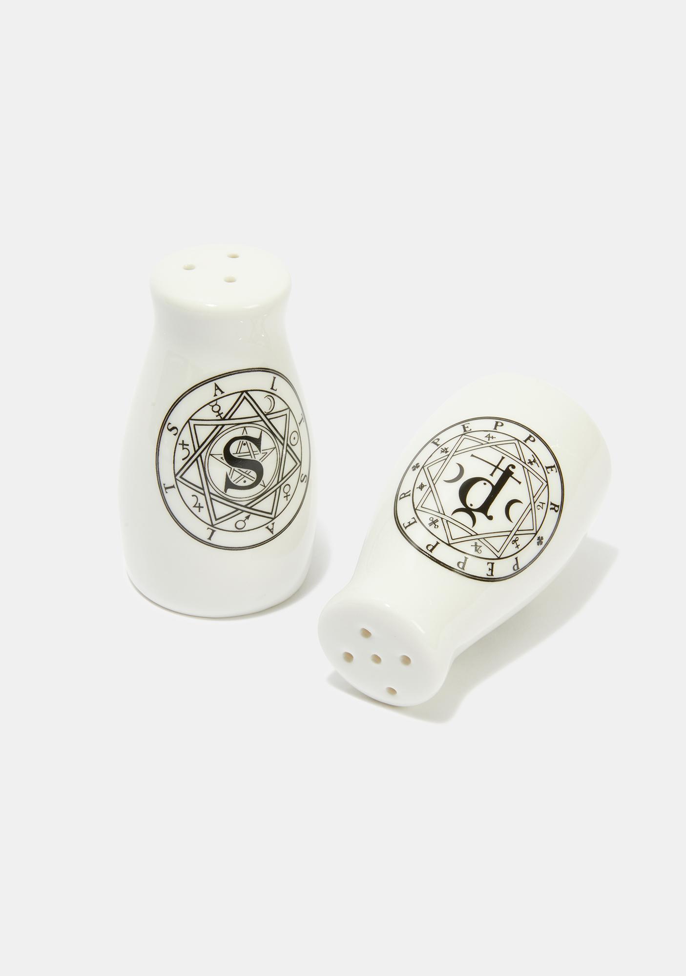 Alchemy England S & P: Salt & Pepper Set
