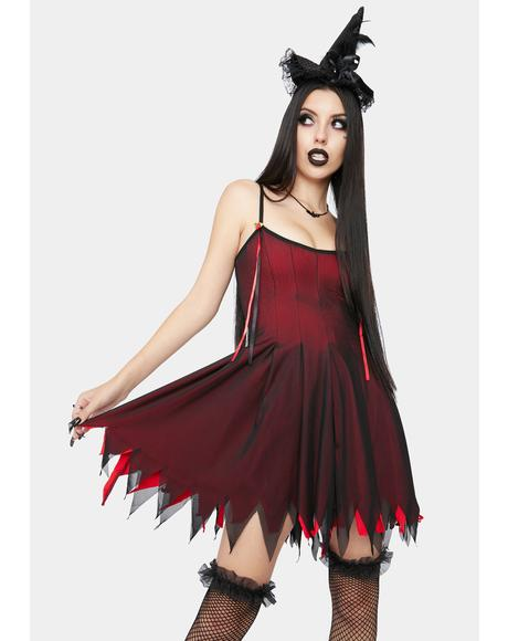 Witches Blood Costume Set