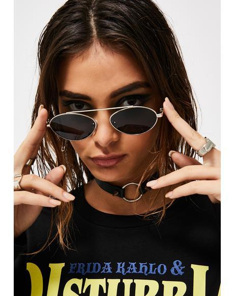 Needlepoint Round Sunglasses
