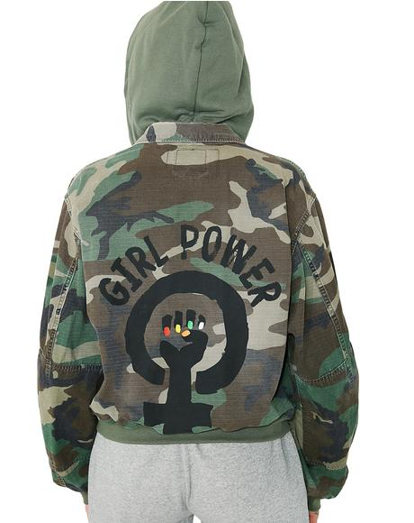 Girl Power M65 Jacket