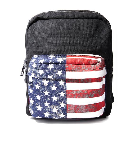 Current Mood Wild American Mini Backpack