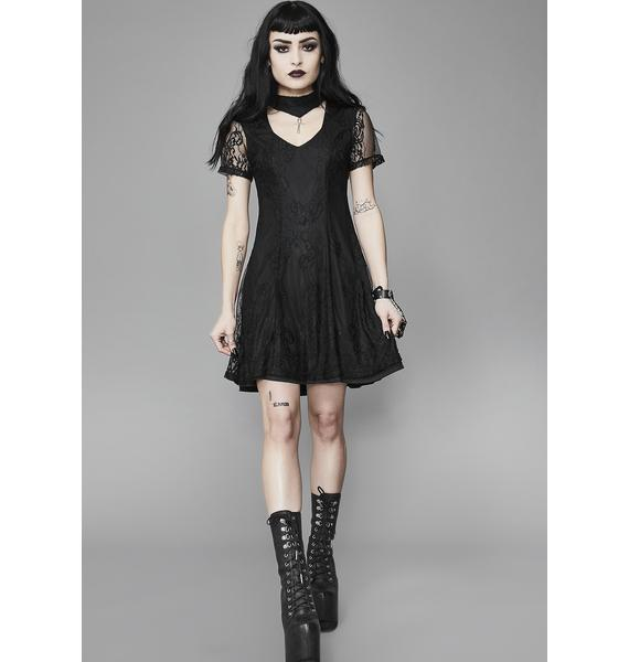 Widow Crux Ansata Babydoll Dress
