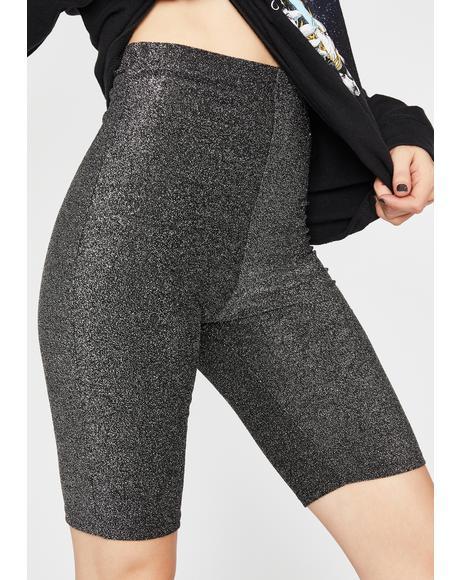 Vulgar Vibe Biker Shorts