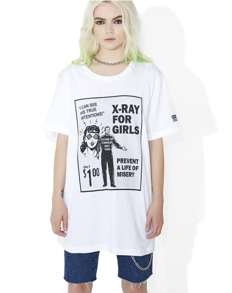 X-Ray For Girls Tee