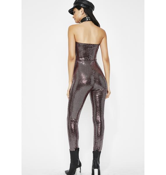 Eat Ya Heat Out Sequin Jumpsuit