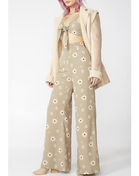Daisy Dame Wide Leg Pants