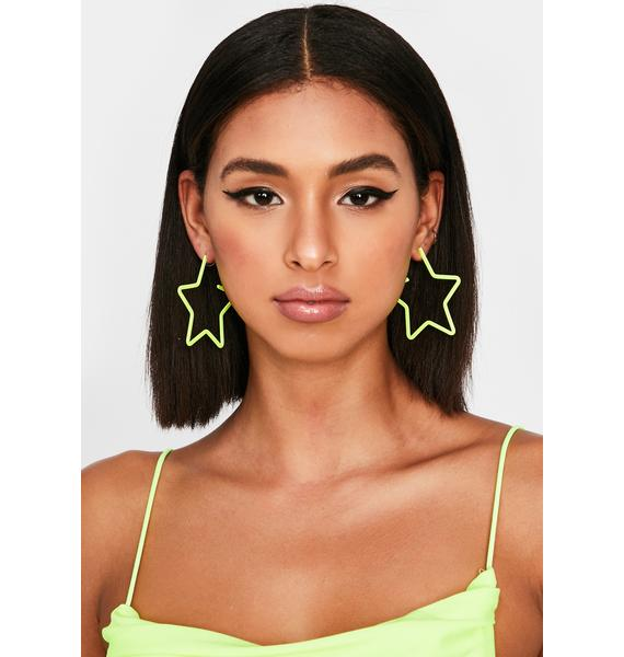 Atomic Atmosphere Star Earrings