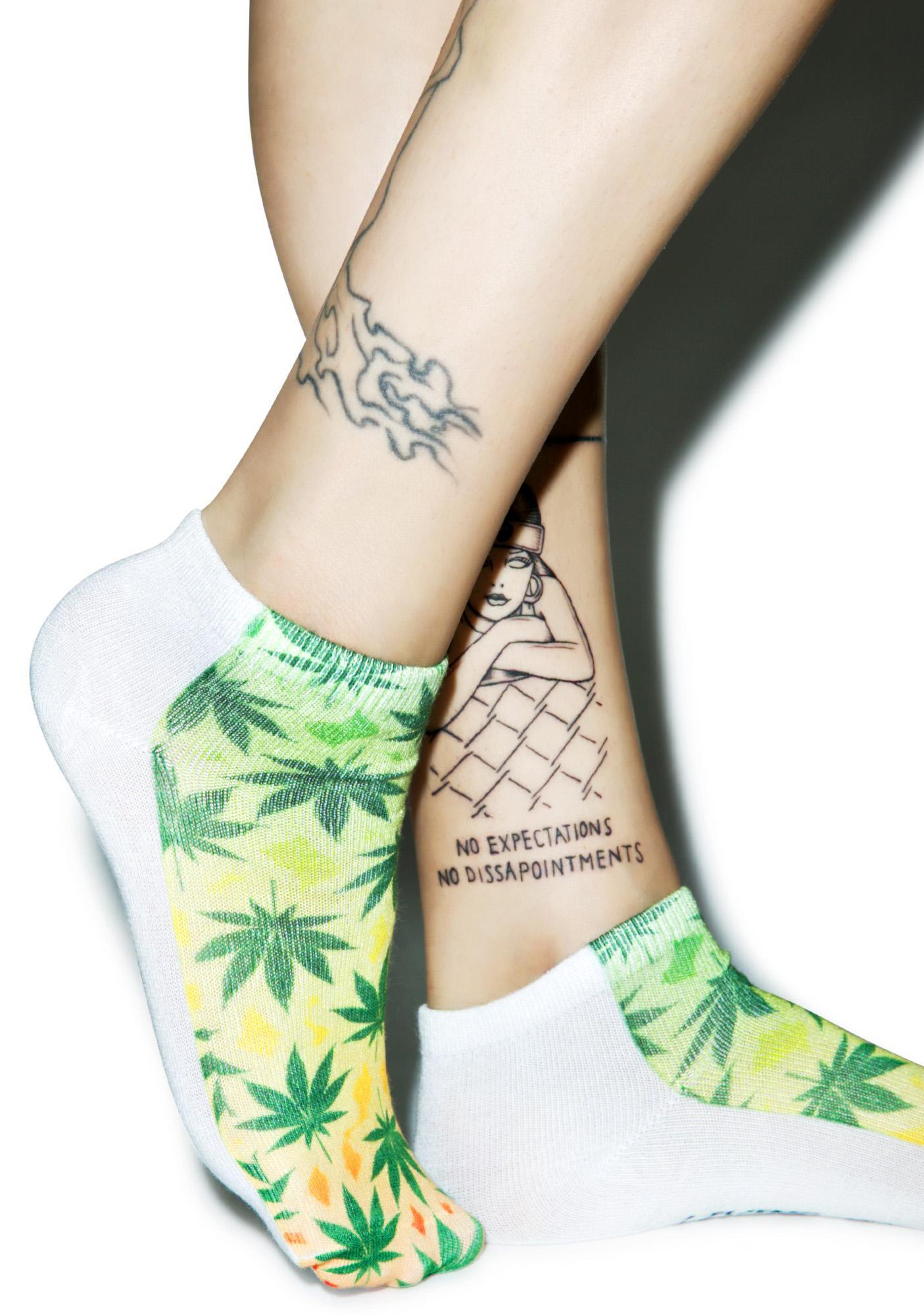 Rasta-Mon Ankle Socks