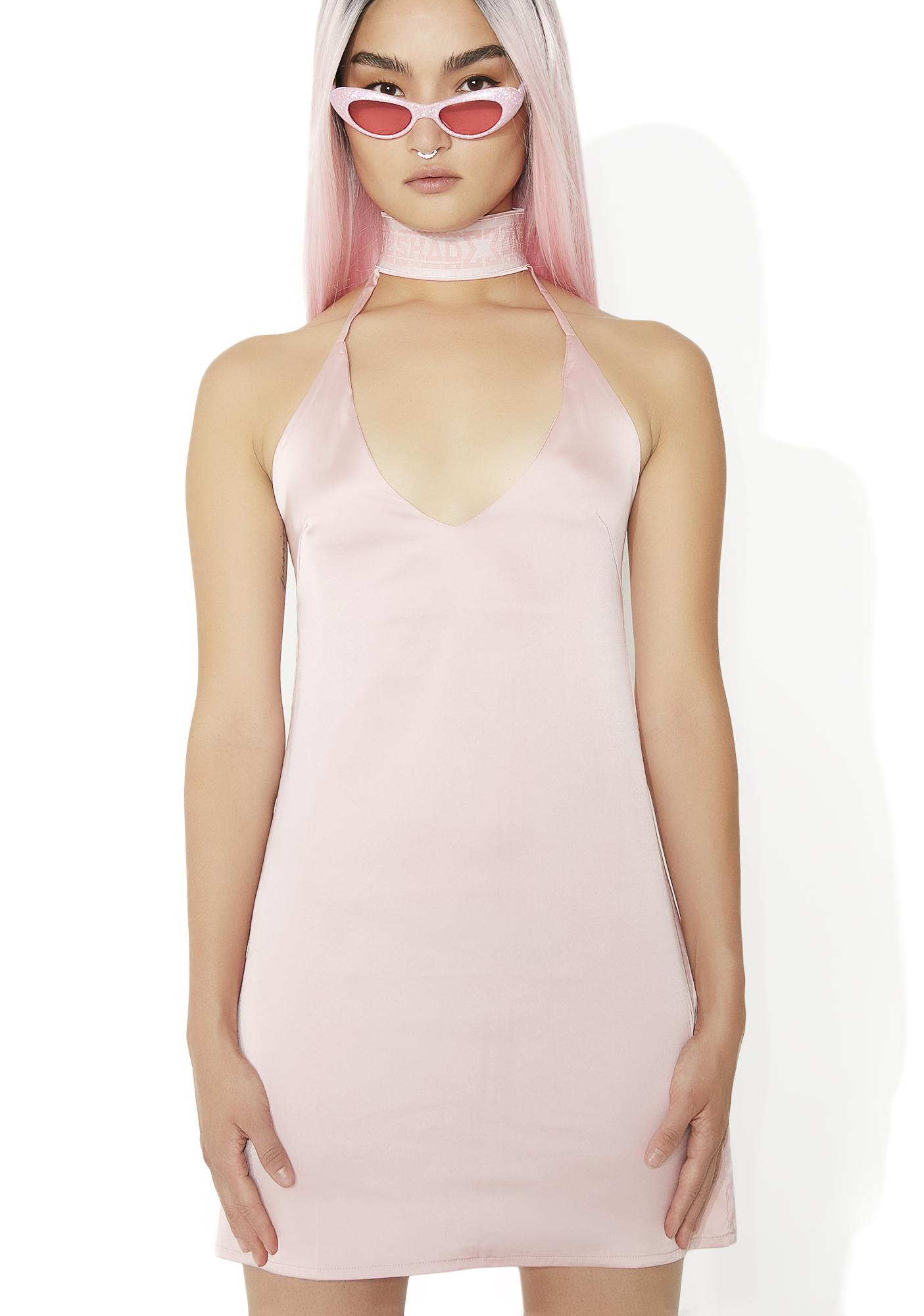 Shade London Silky Choker Dress