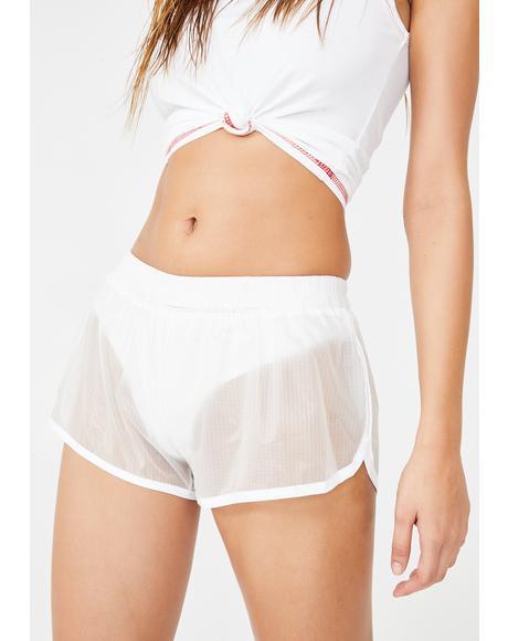 Naughty Play Sheer Shorts
