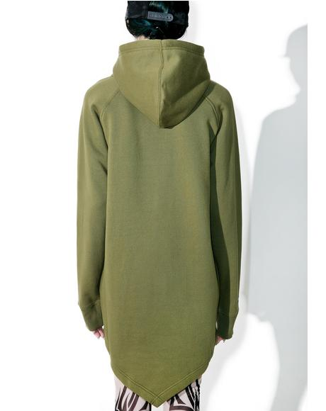 Fishtail Pullover Hoodie
