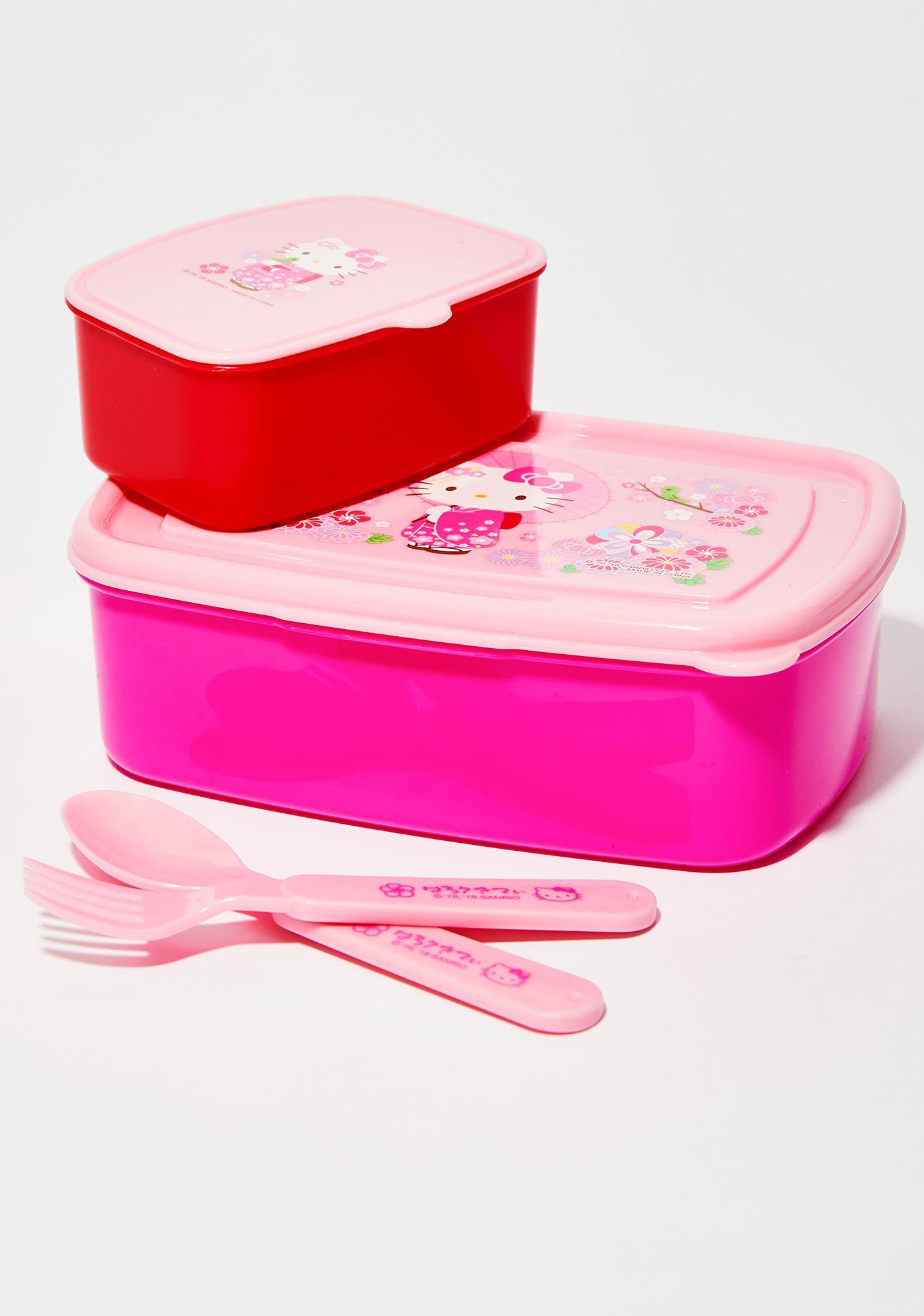 Sanrio Kimono Lunch Container