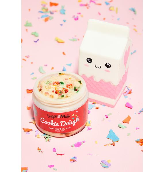 Sugar Milk Co Vanilla Cake Cookie Dough Body Scrub