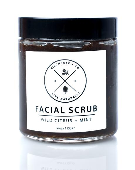 Wild Citrus + Mint Facial Scrub