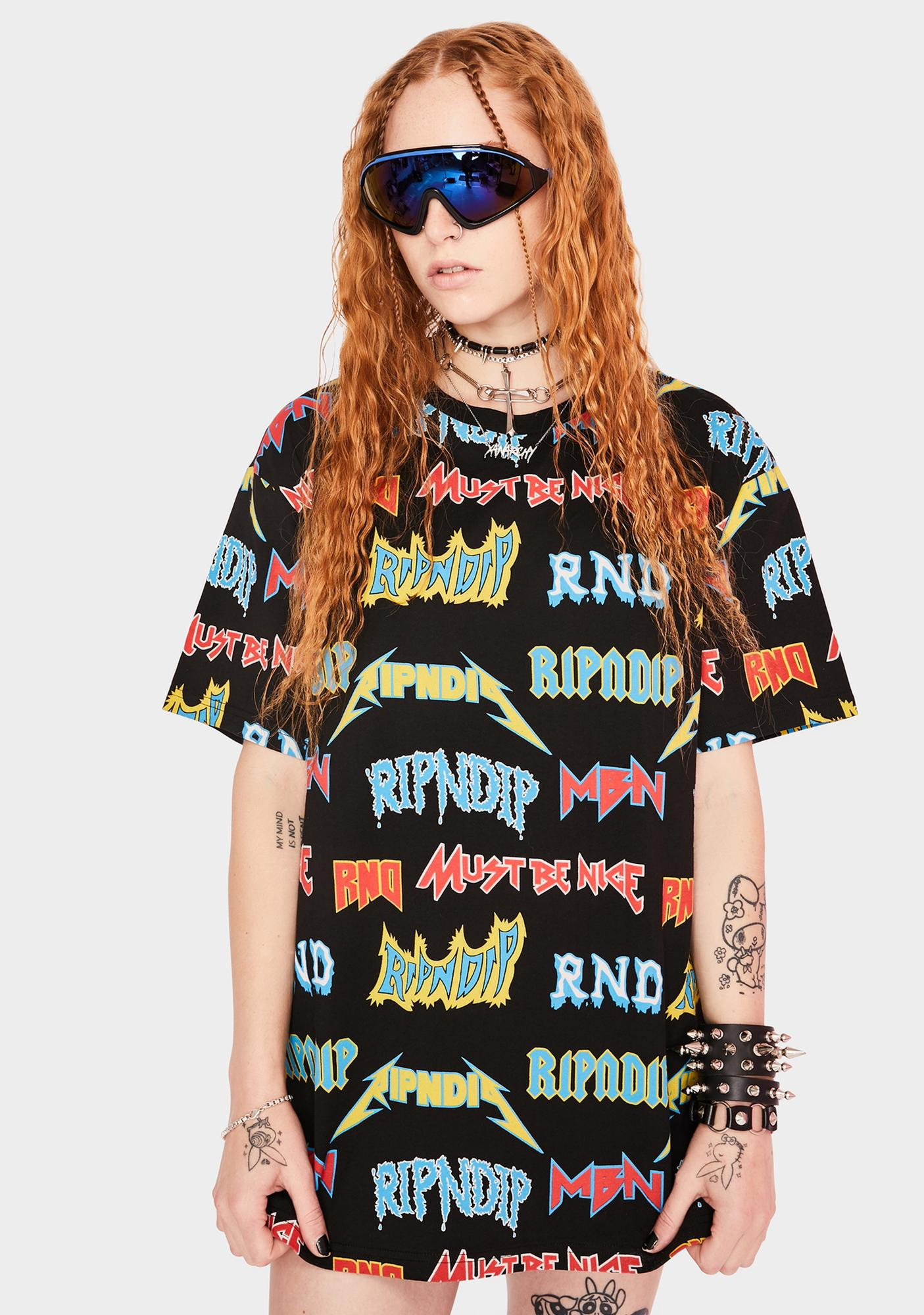 RIPNDIP Rock N' Nerm Graphic Tee