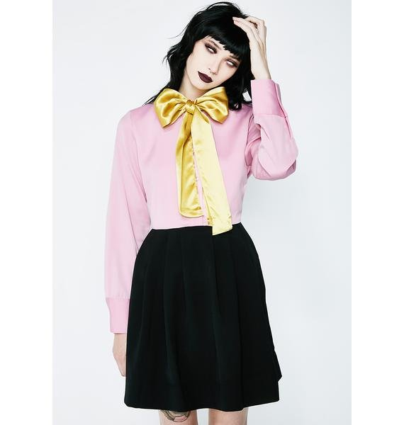 SISTER JANE Greta Colourblock Dress