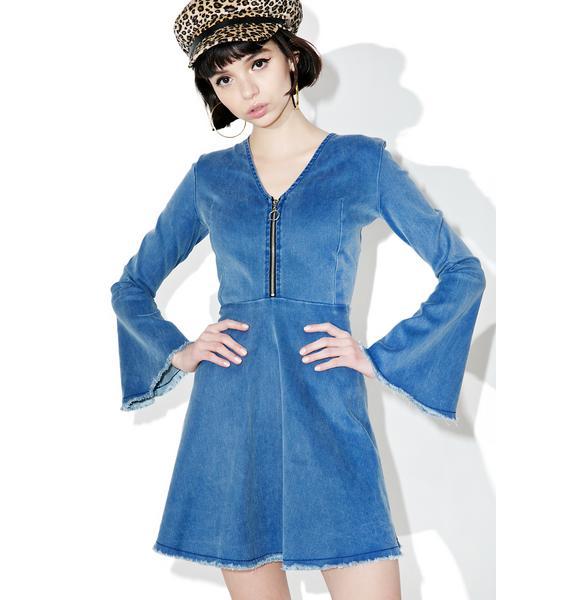 Valfré Alexa Denim Dress