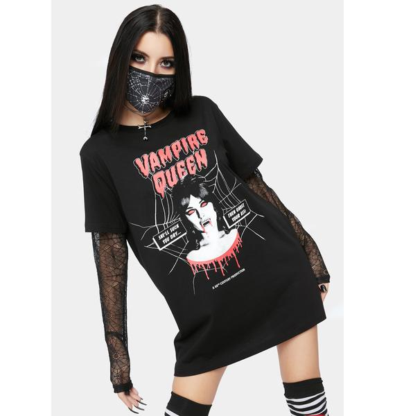 Dolls Kill Want Your Blood Graphic Tee