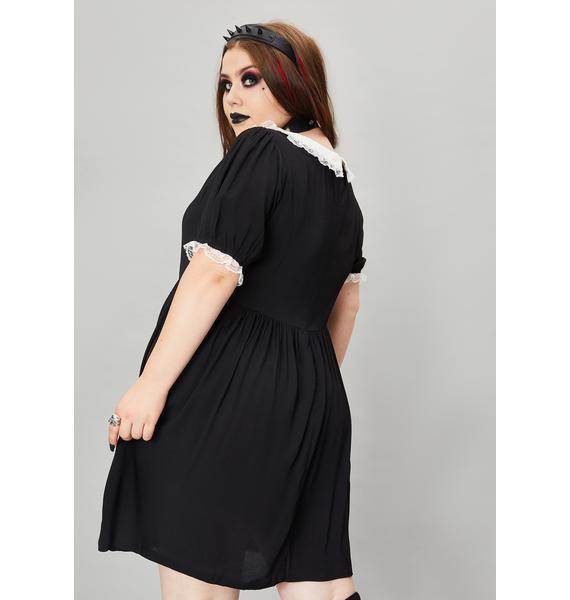 Widow My Never Ending Nightmare Mini Dress