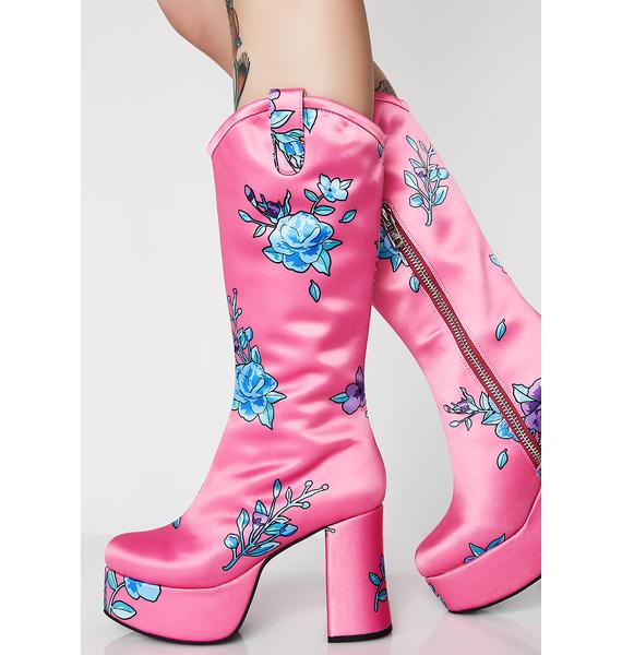 Sugar Thrillz Wilder Out West Boots