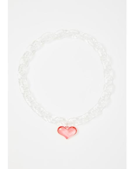 Love Loudly Chain Necklace