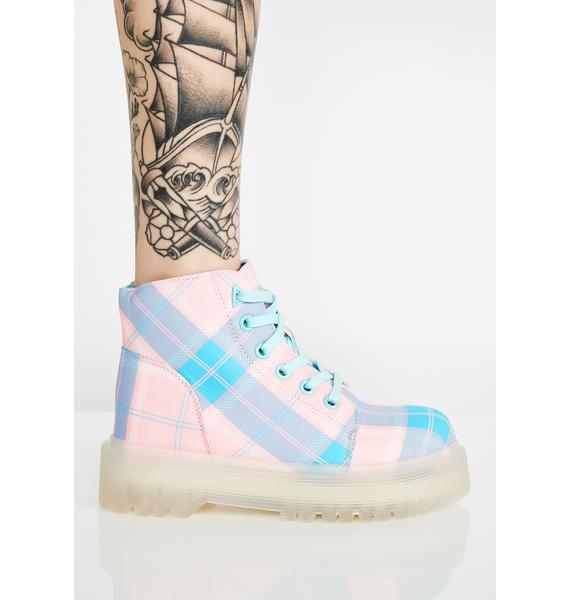 Y.R.U. Plaid Slayr Boots