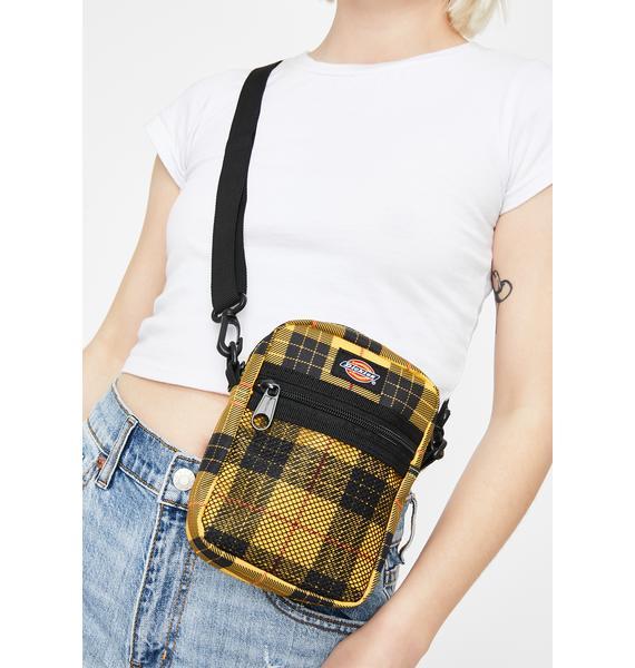 Dickies Tartan Plaid Crossbody Bag