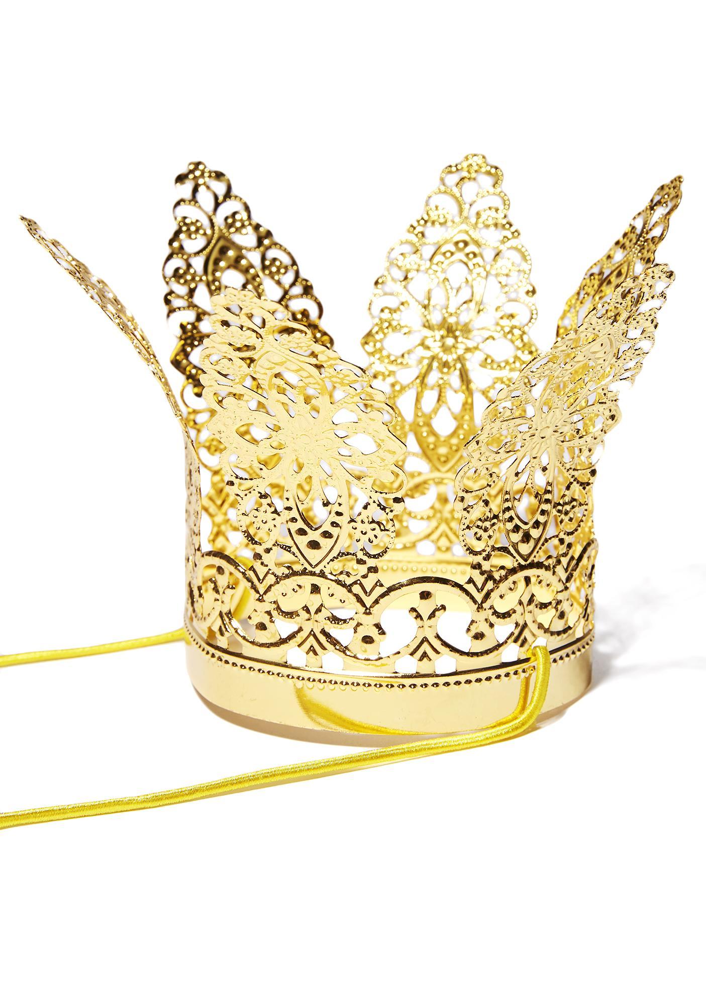 Royal Treatment Mini Crown