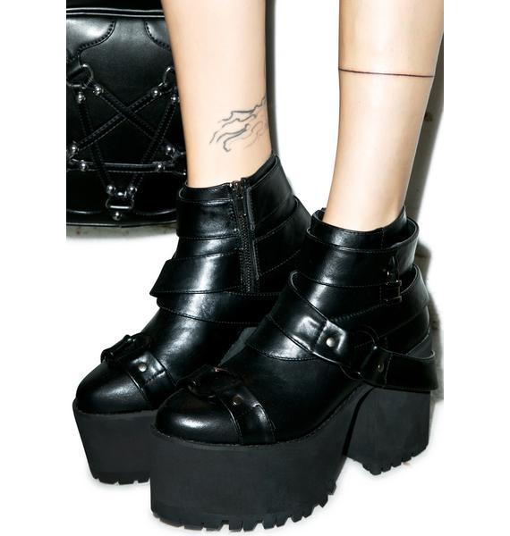 Y.R.U. Cherish Platform Boots