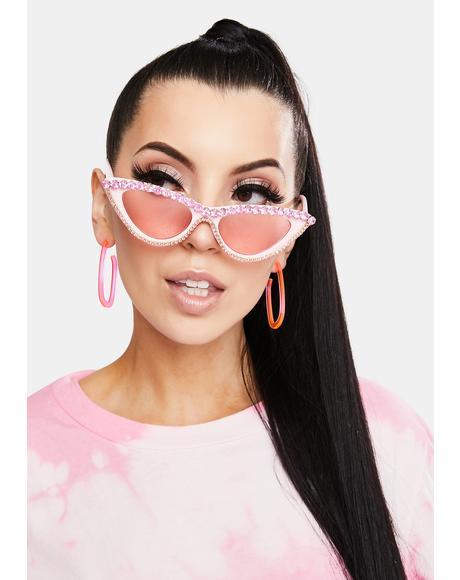 Winner Takes All Cat Eye Sunglasses