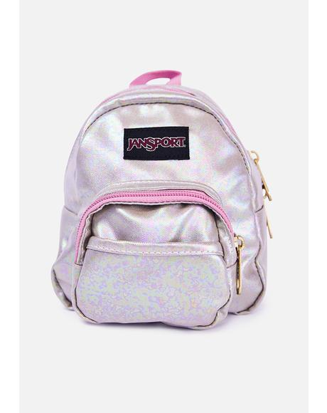 Pearlized Shine Quarter Pint Mini Backpack
