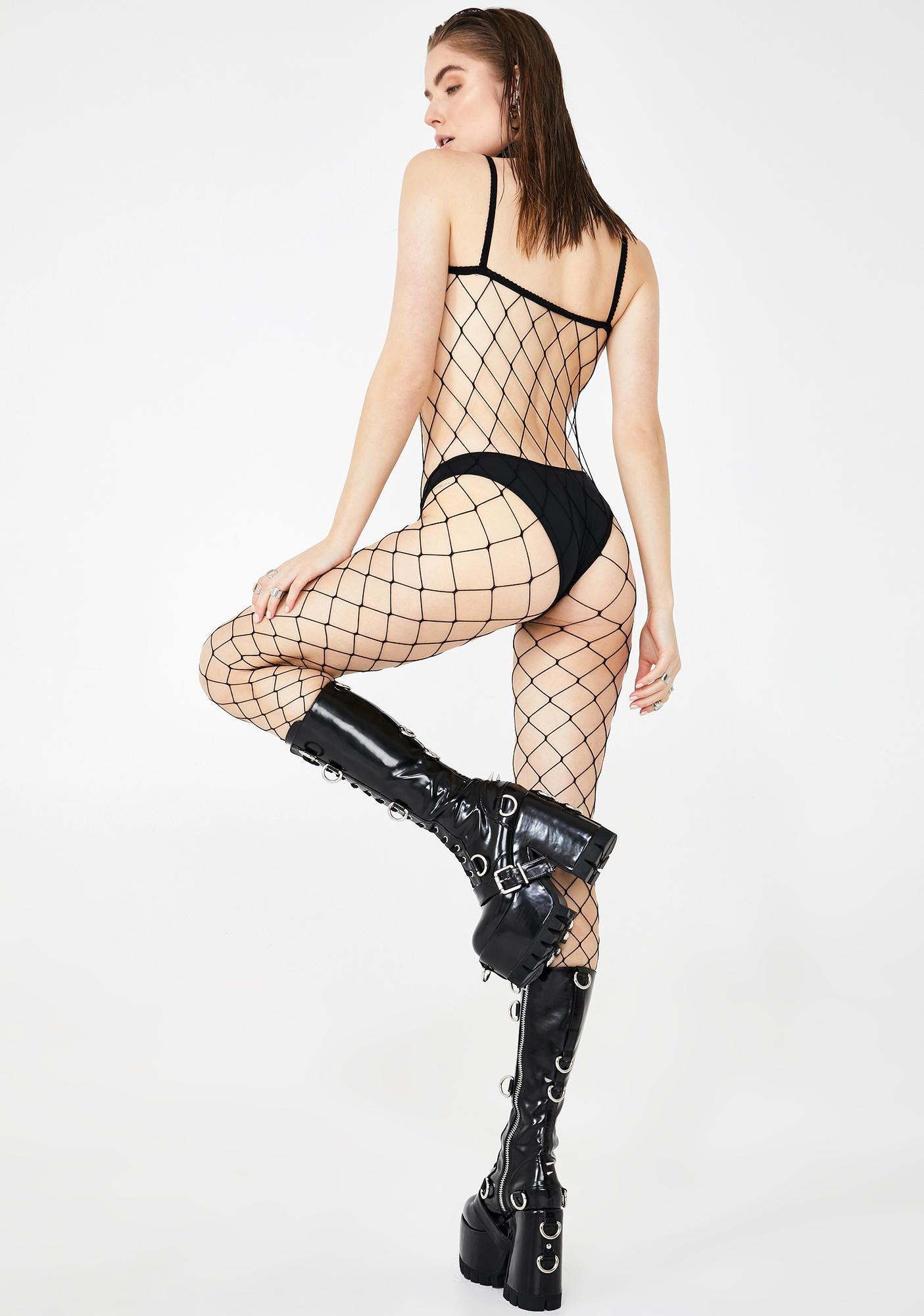 Entice 'Em Fence Net Bodystocking