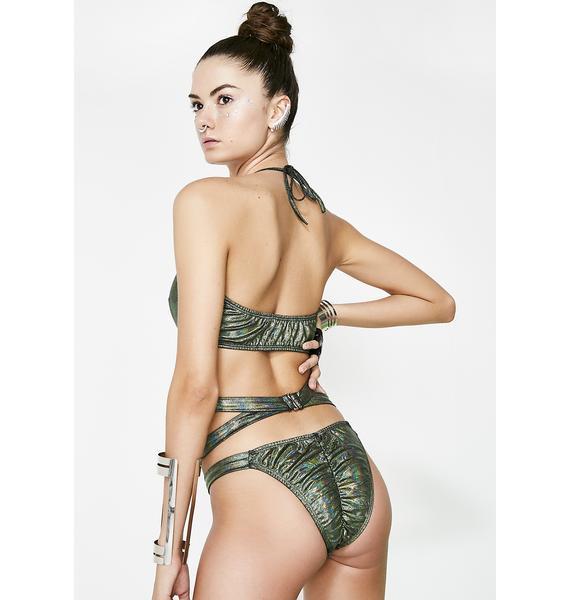 Virtual Vixen Cut-out Bodysuit