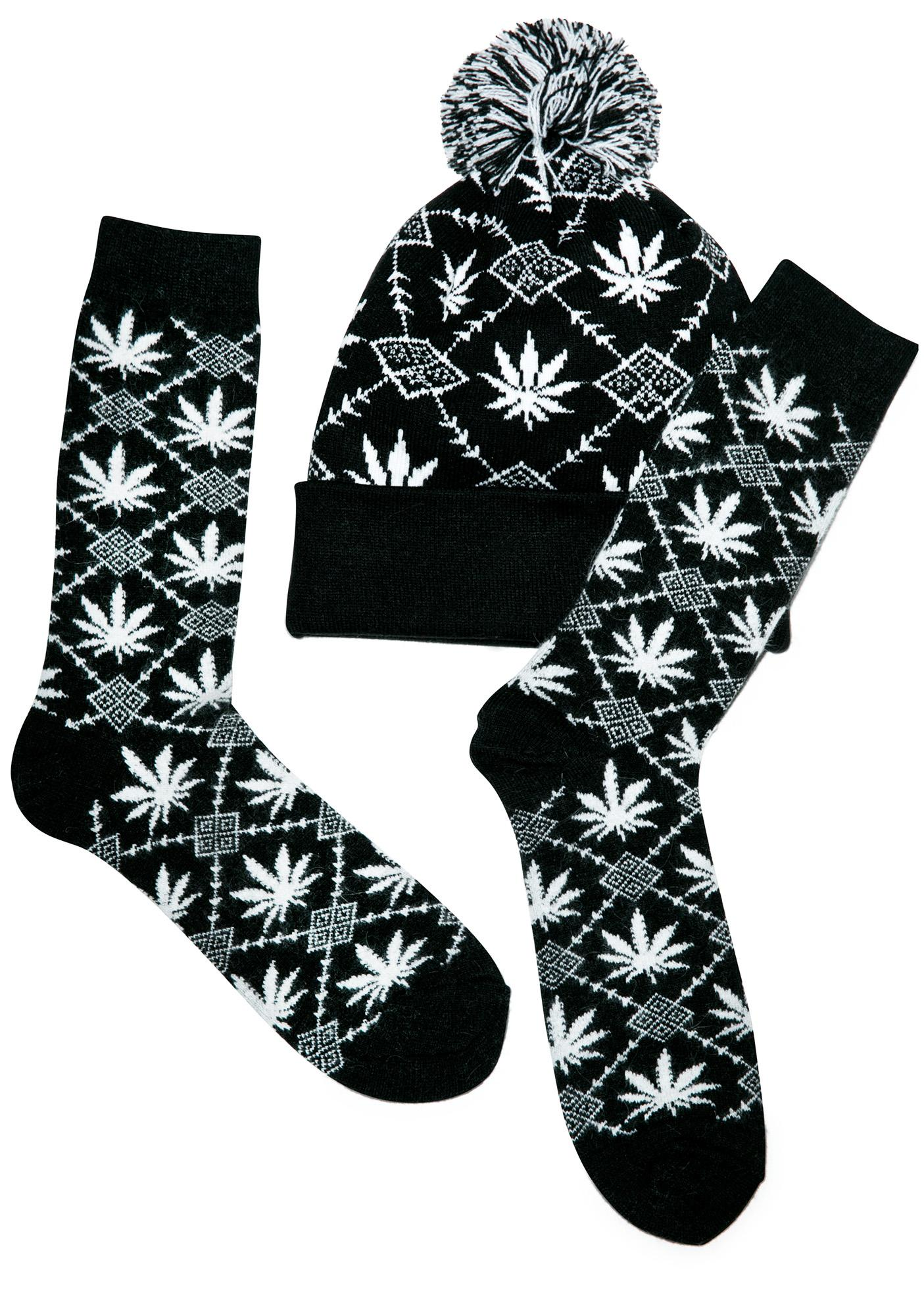 HUF Angora Nordic Socks