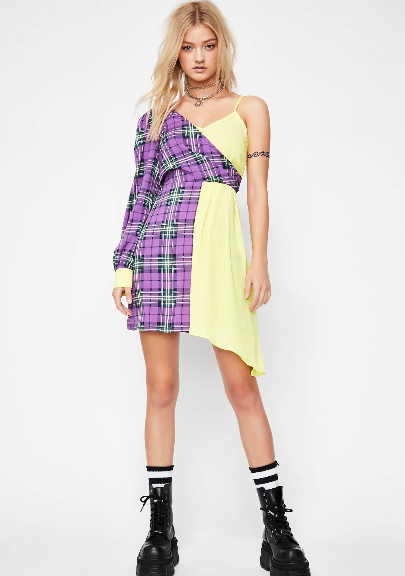 Go Both Waze Mini Dress
