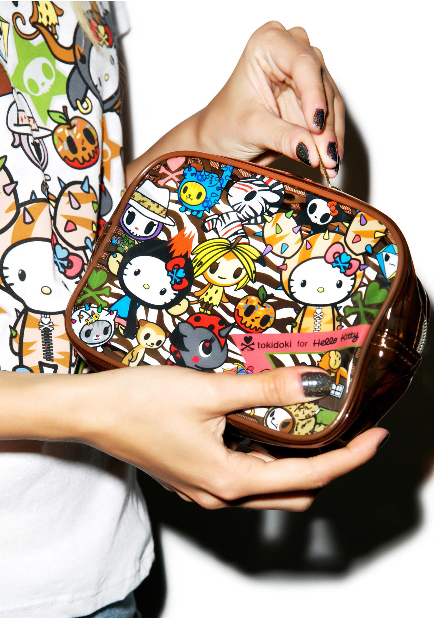 Sanrio Tokidoki X Hello Kitty Summer Safari Pouch