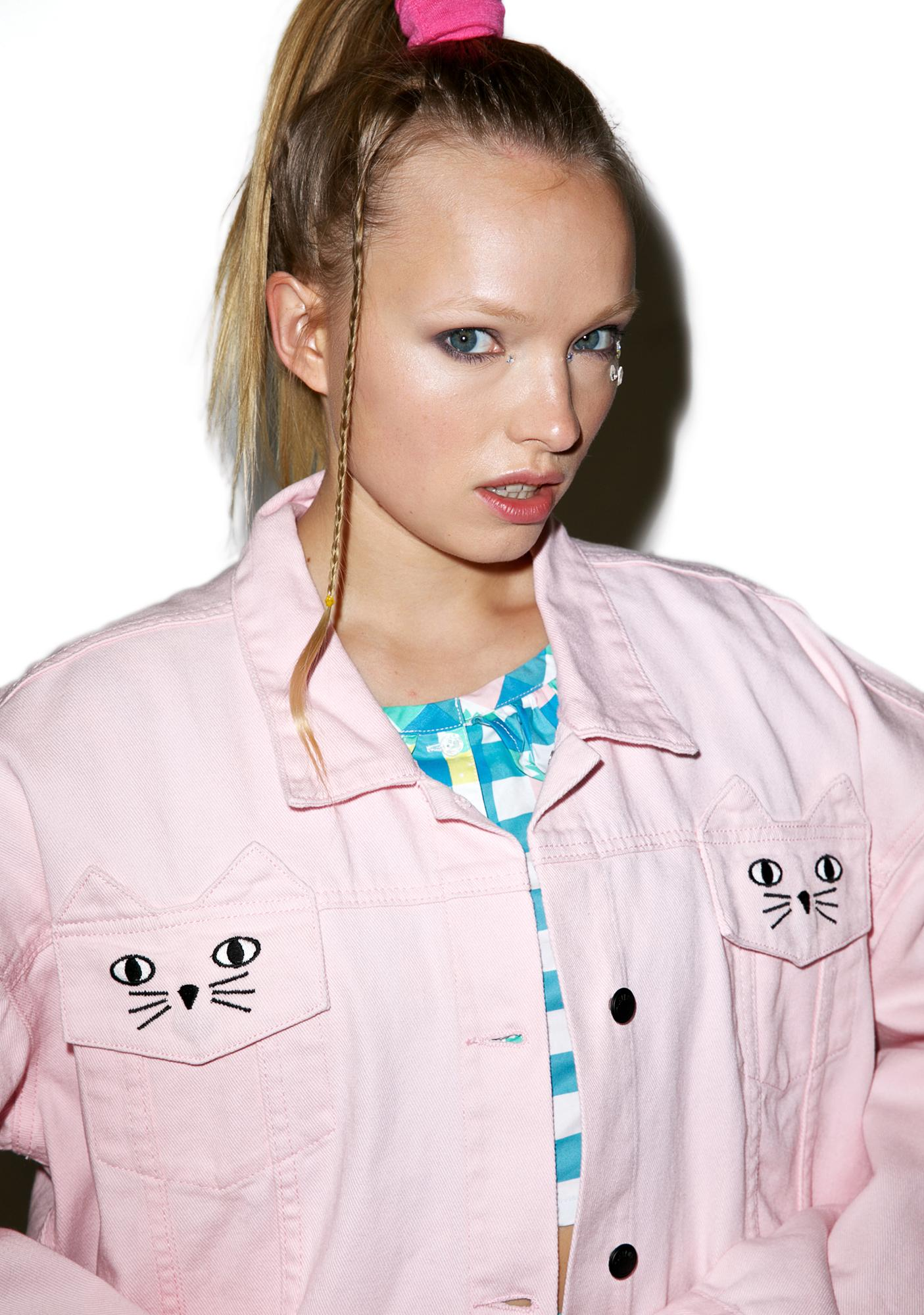 Lazy Oaf Cat Pocket Jacket