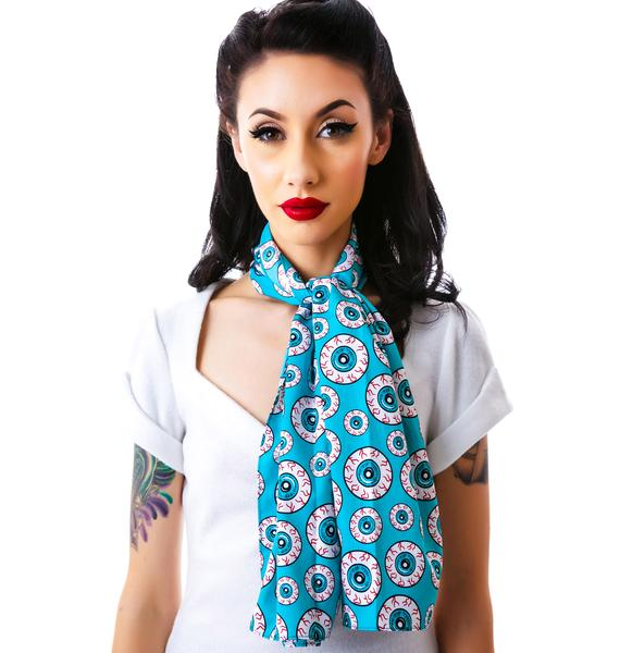 Sourpuss Clothing Bad Girl Optical Delusion Scarf