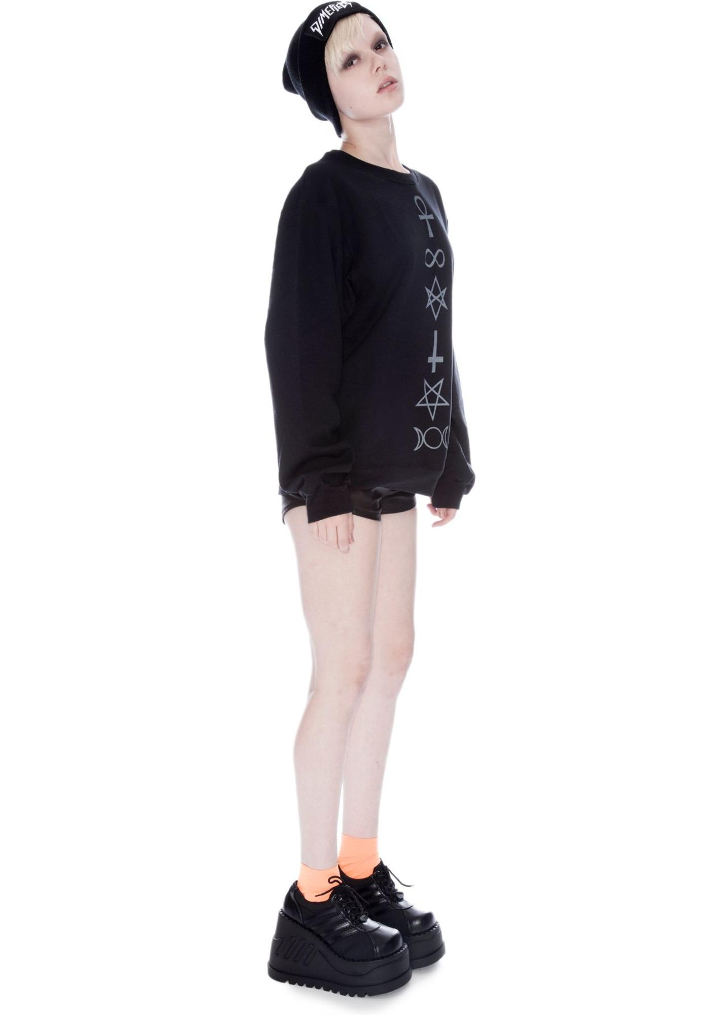 Shop W.A.S. Symbolism Sweater