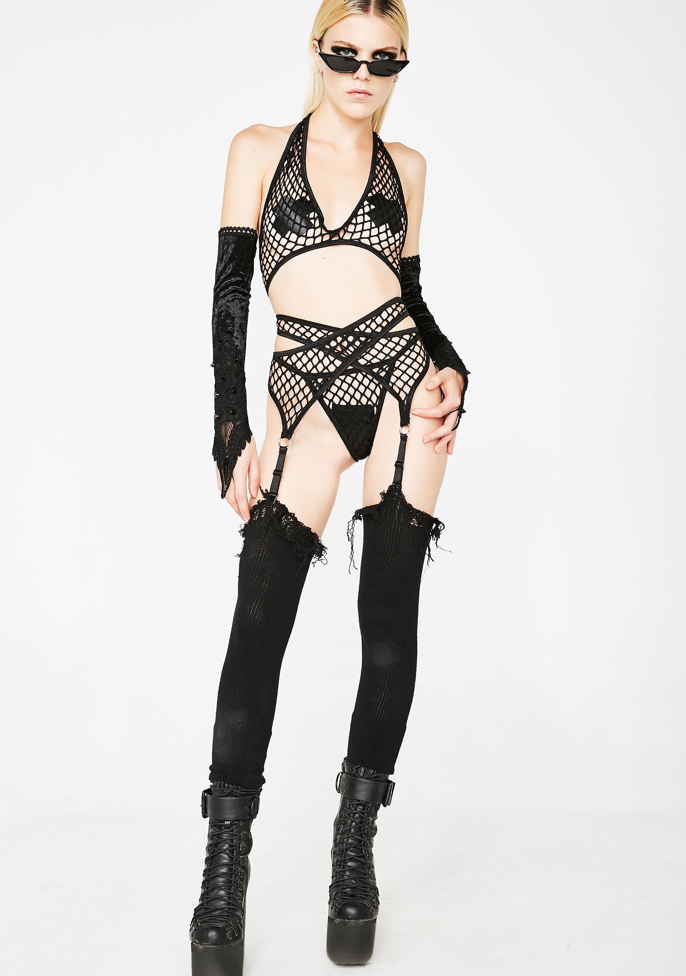 Sexx Symbol Fishnet Set