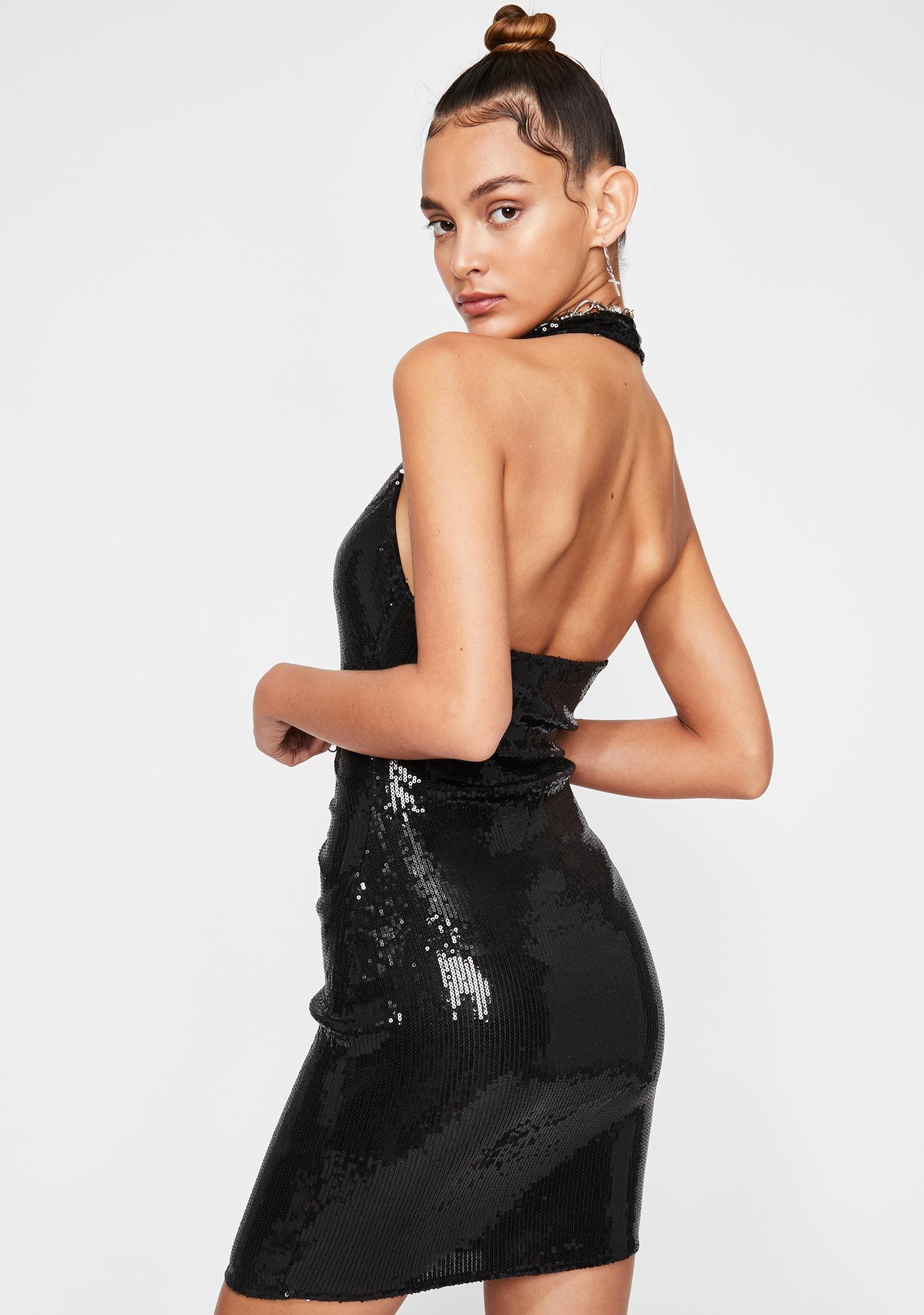 Hottie Alert Sequin Dress