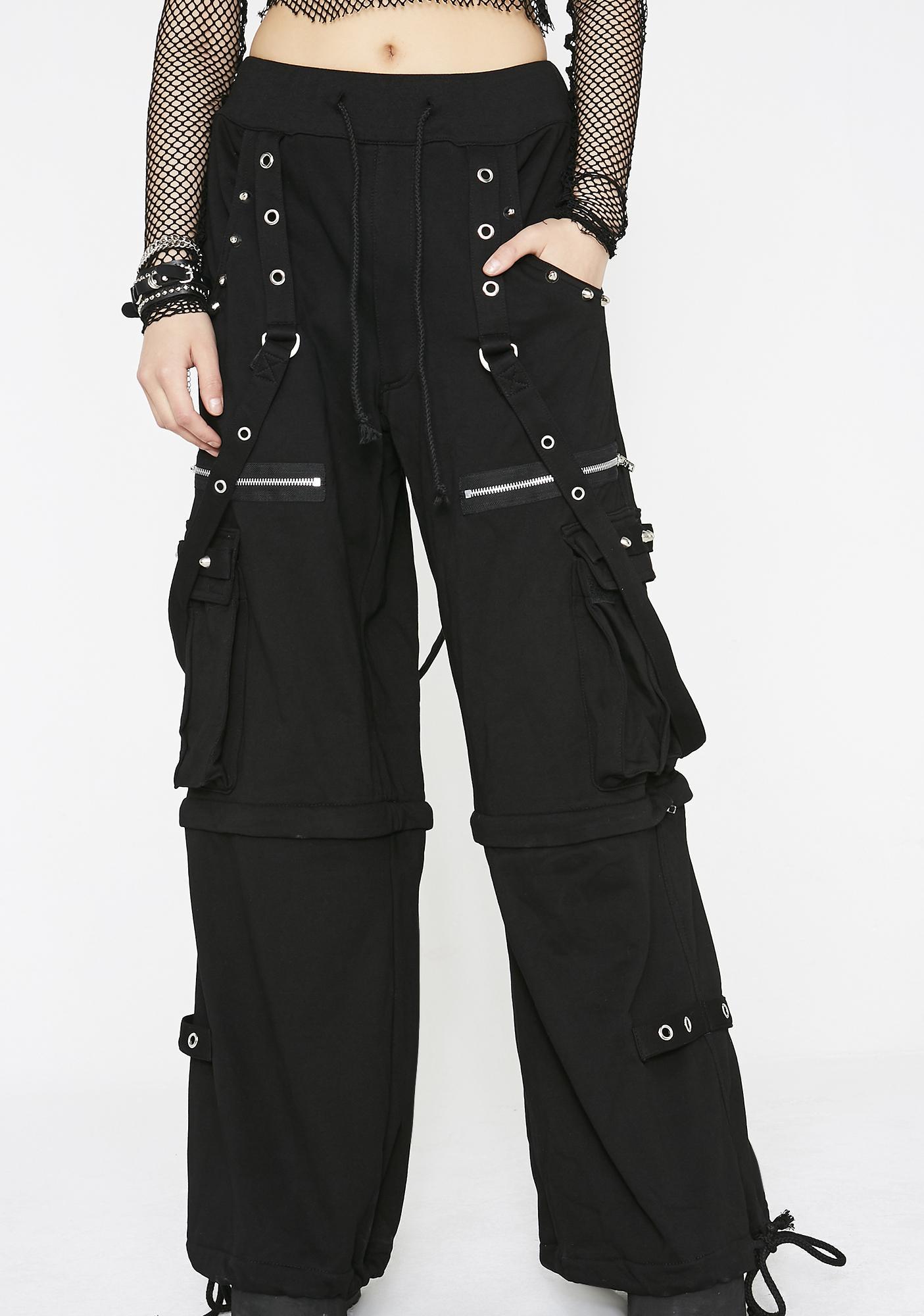 Tripp NYC Knit Dark Street Pants