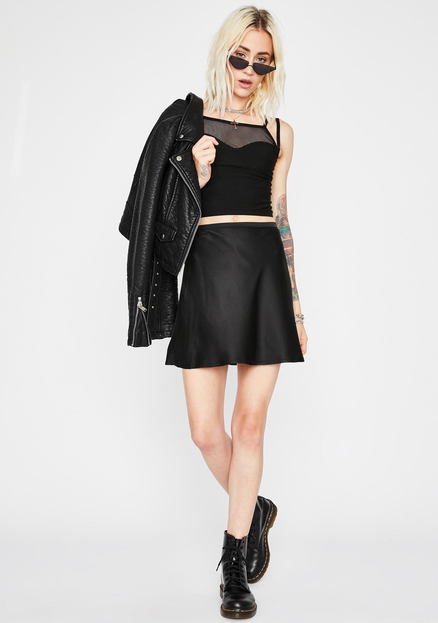 Wicked Flash Forward Silky Skirt