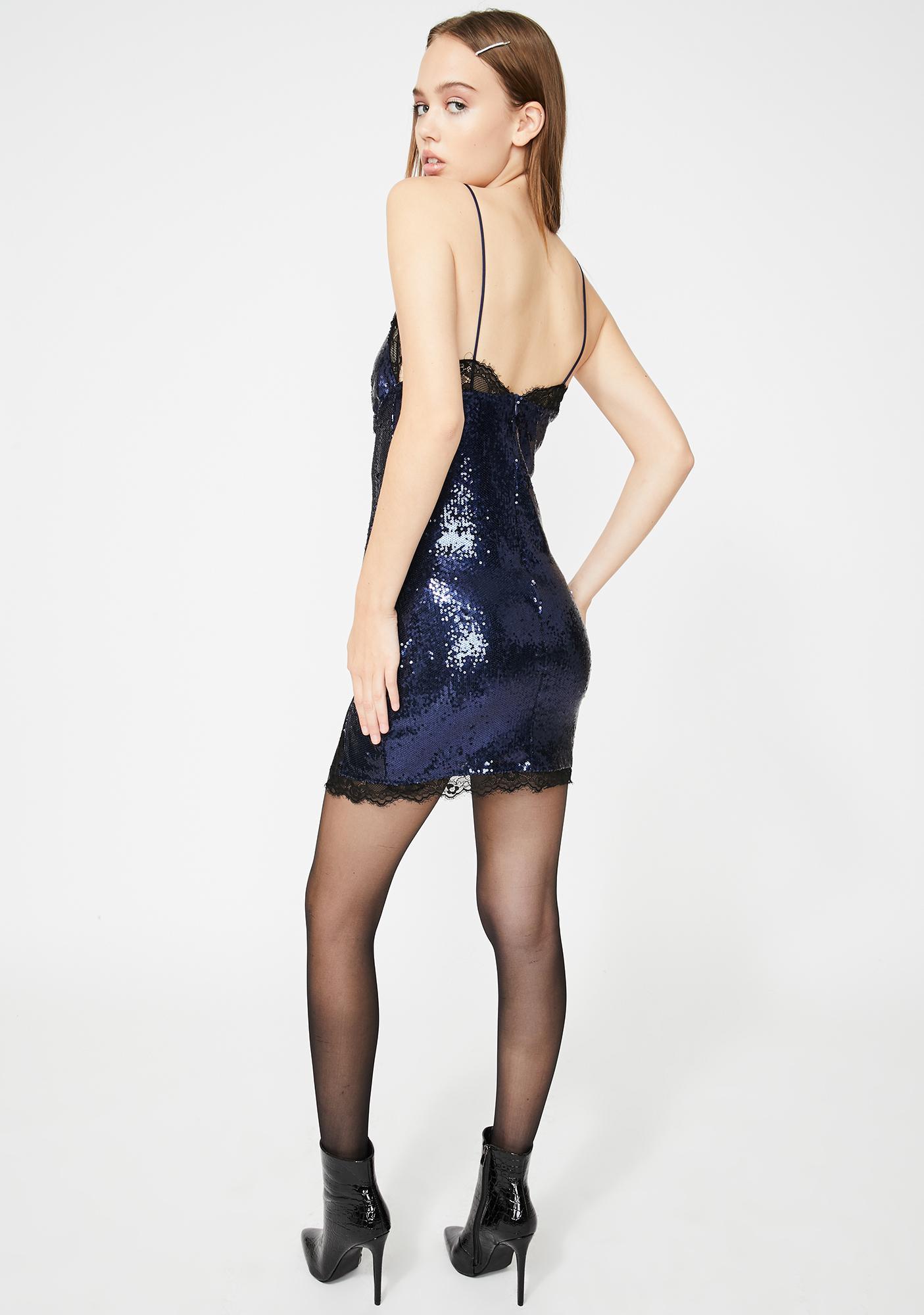 Motel Midnight Sequin Romini Mini Dress