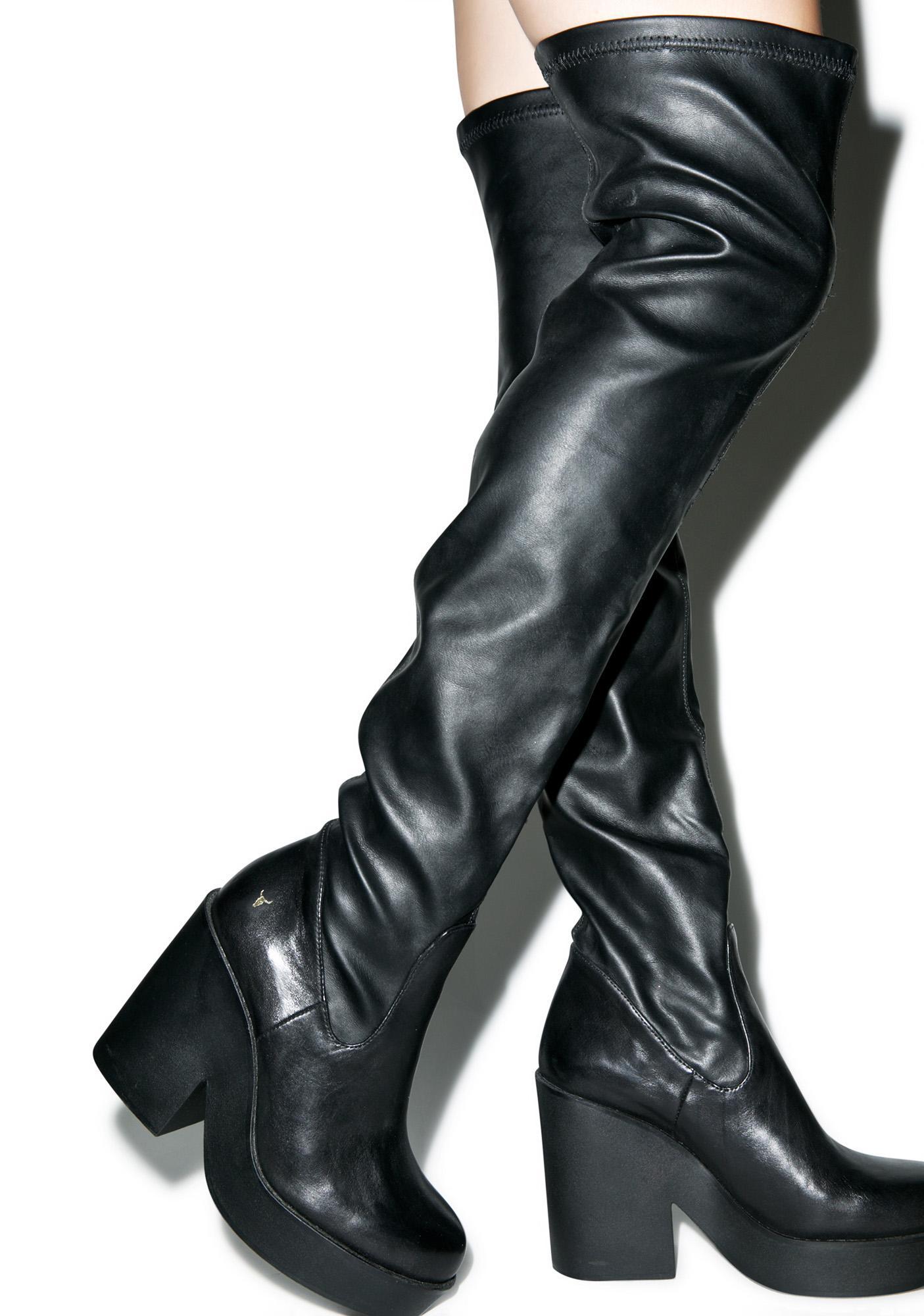 windsor smith seb thigh high boots | dolls kill