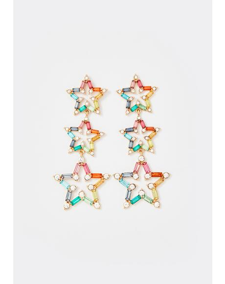 Debut Starlet Rhinestone Earrings