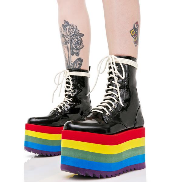 Current Mood Rainbow Road Stacked Platforms