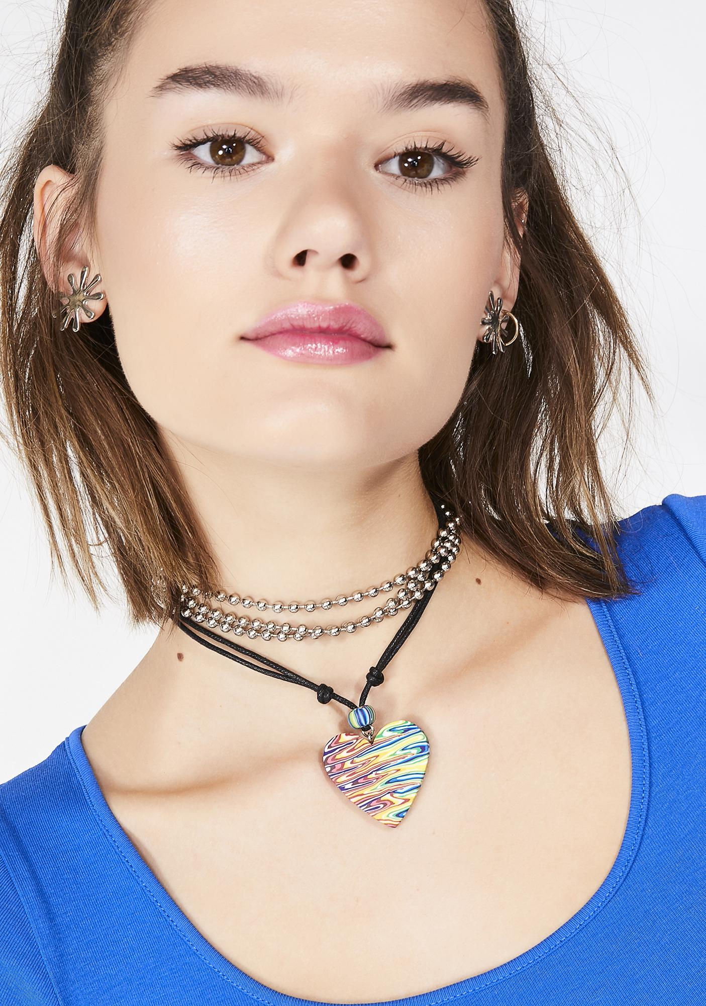 Viva Forever Cord Necklace